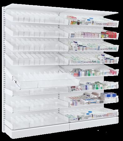 Medishelf Dispensary Shelving System