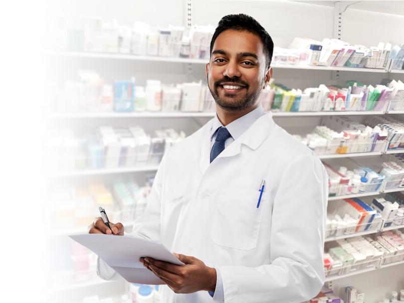 Pharmacy dispensary shelving
